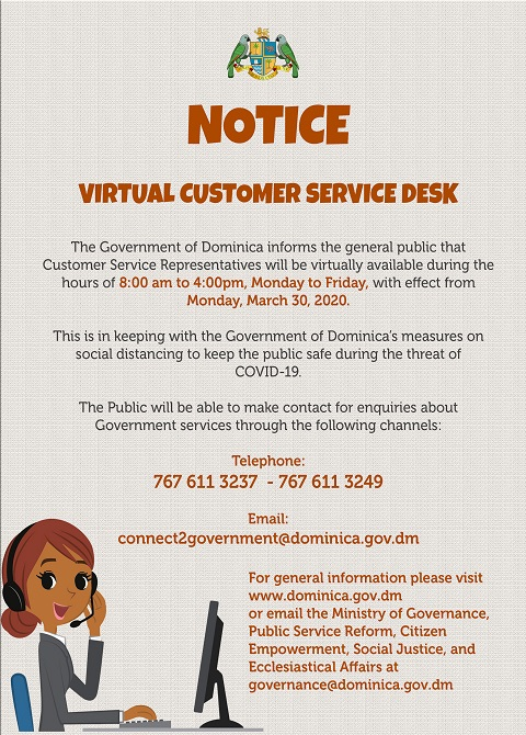 Virtual Customer Service Desk